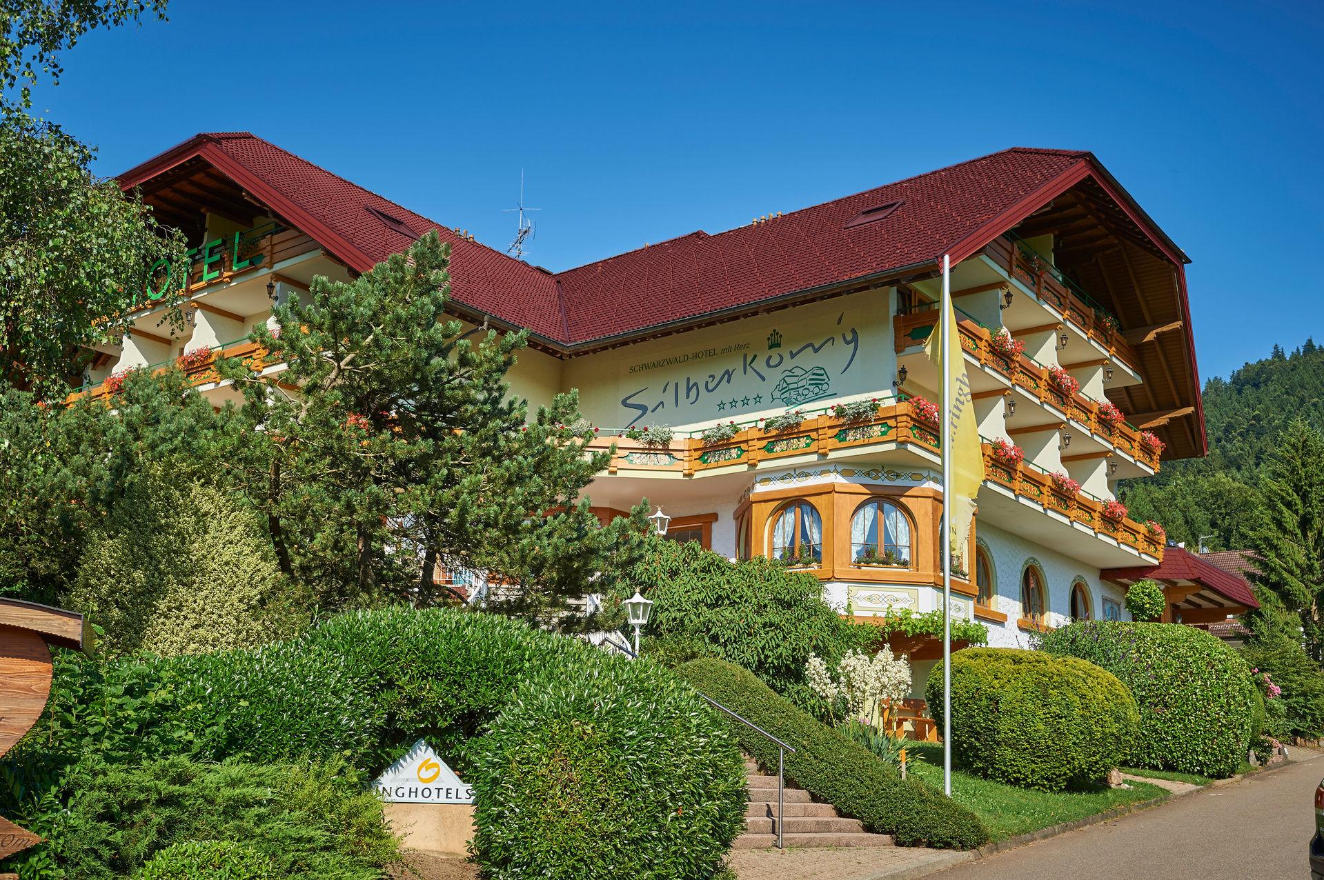 silberk nig 4 sterne schwarzwald hotel im elztal zweit lerland bei freiburg im breisgau. Black Bedroom Furniture Sets. Home Design Ideas